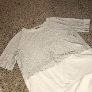 Zara Tops - Zara high low shirt